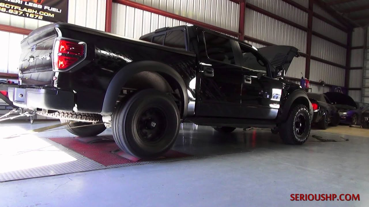 349 rwhp ford raptor sct advantage tune cai cat back by serious hp youtube