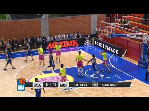 ABA Liga 2016/17, Round 10 match: Mega Leks - Mornar (19.11.2016)