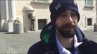 Intervista a Manuel Pozzerle al termine della Cerimonia di Riconsegna del Tricolore al Quirinale