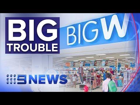 30 Big W Stores To Close | Nine News Australia