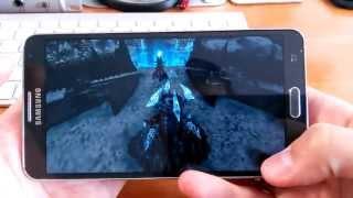 samsung Galaxy Note 3 Тест Игр