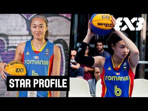 Sonia Ursu explains the Savage Mentality! - Player Profile - Team Romania - FIBA 3x3