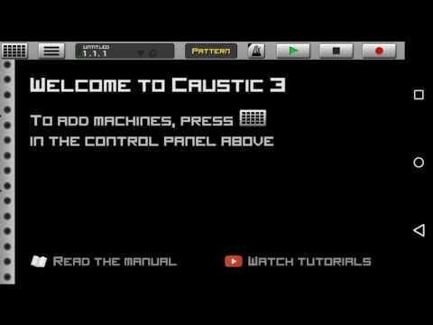 How to import accapella on Caustic 3(3 ways)