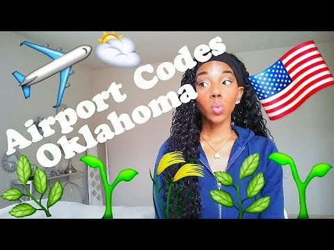 Airport Codes - Oklahoma (OK) | Ashley Skyflier
