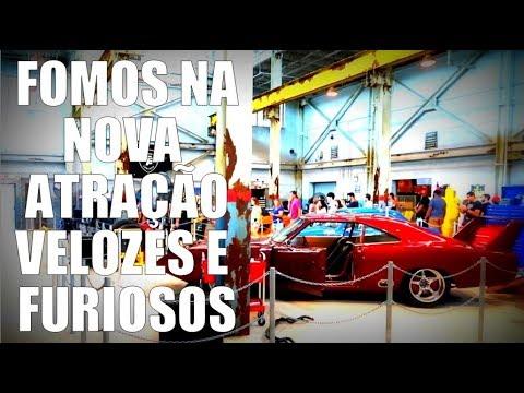 Nova Atração Universal Orlando - Fast And Furious Supercharged
