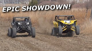 Doug's TURBO YXZ vs Rick's BIG TURBO X3! GHOUL VS YXZ! plus NEW TRACK!