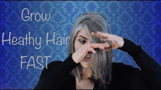 Gambar cover How to Grow Healthy Hair FAST: Silver Hair Transition