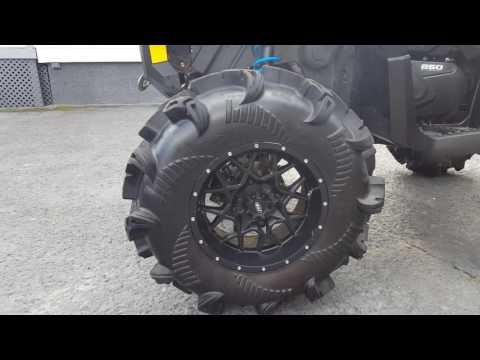 2016 Can Am Outlander 850 6inch Lift Walkaround