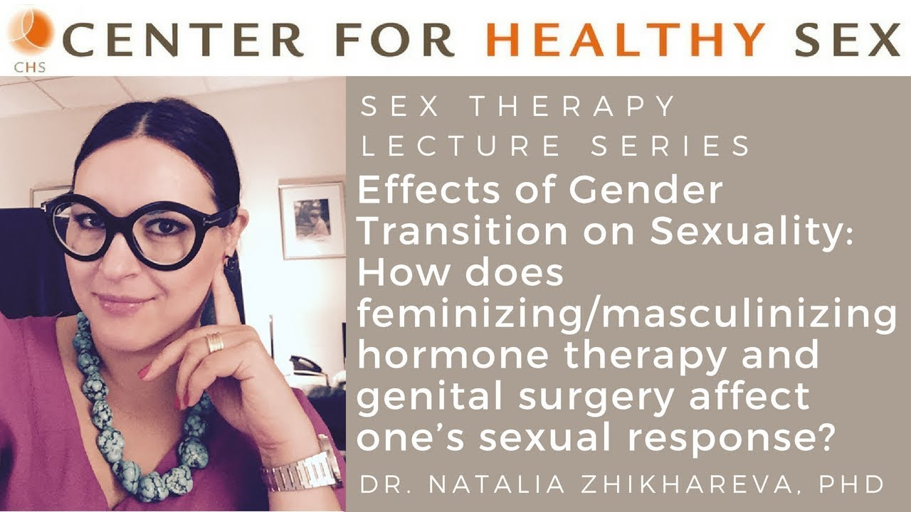 Hormone therapy sexuality