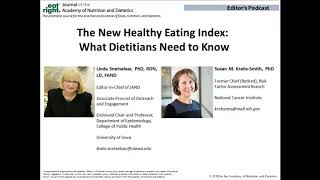 The healthy eating index helps ...