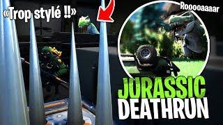 Deathrun Préhistorique Jurassic Park sur Fortnite Créatif !