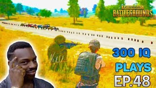 PUBG 300 IQ EPIC plays Ep.48 💮  PlayerUnknown's Battlegrounds Highlights