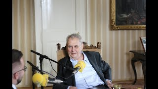 PREZIDENTSKÝ PRESS KLUB s Milošem Zemanem 16.04.2018 (Live)