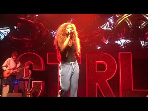 SZA - CTRL TOUR  Garden (say it like that) - Normal Girl -The Weekend LIVE 2017