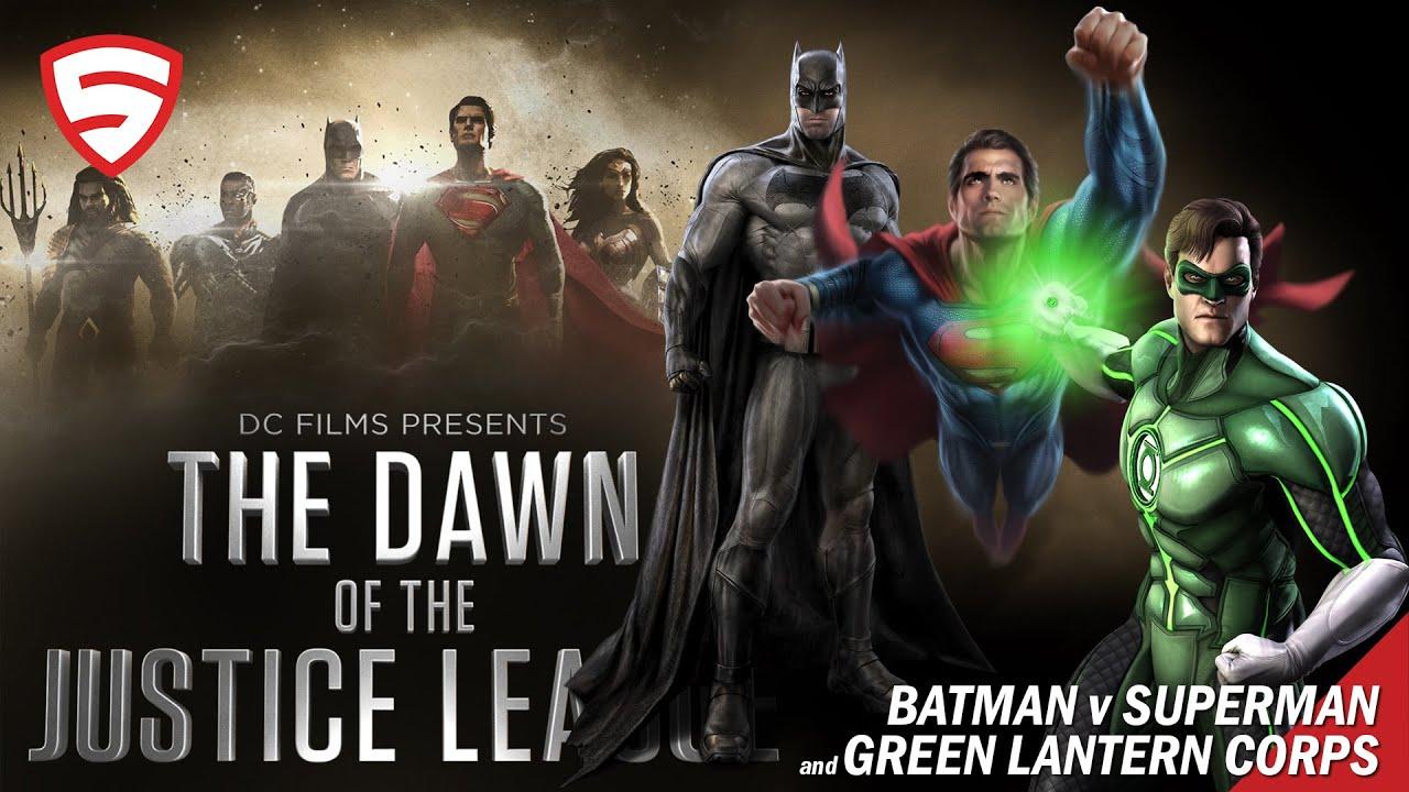 Dawn of the Justice League: BvS (2016) / Green Lantern ...