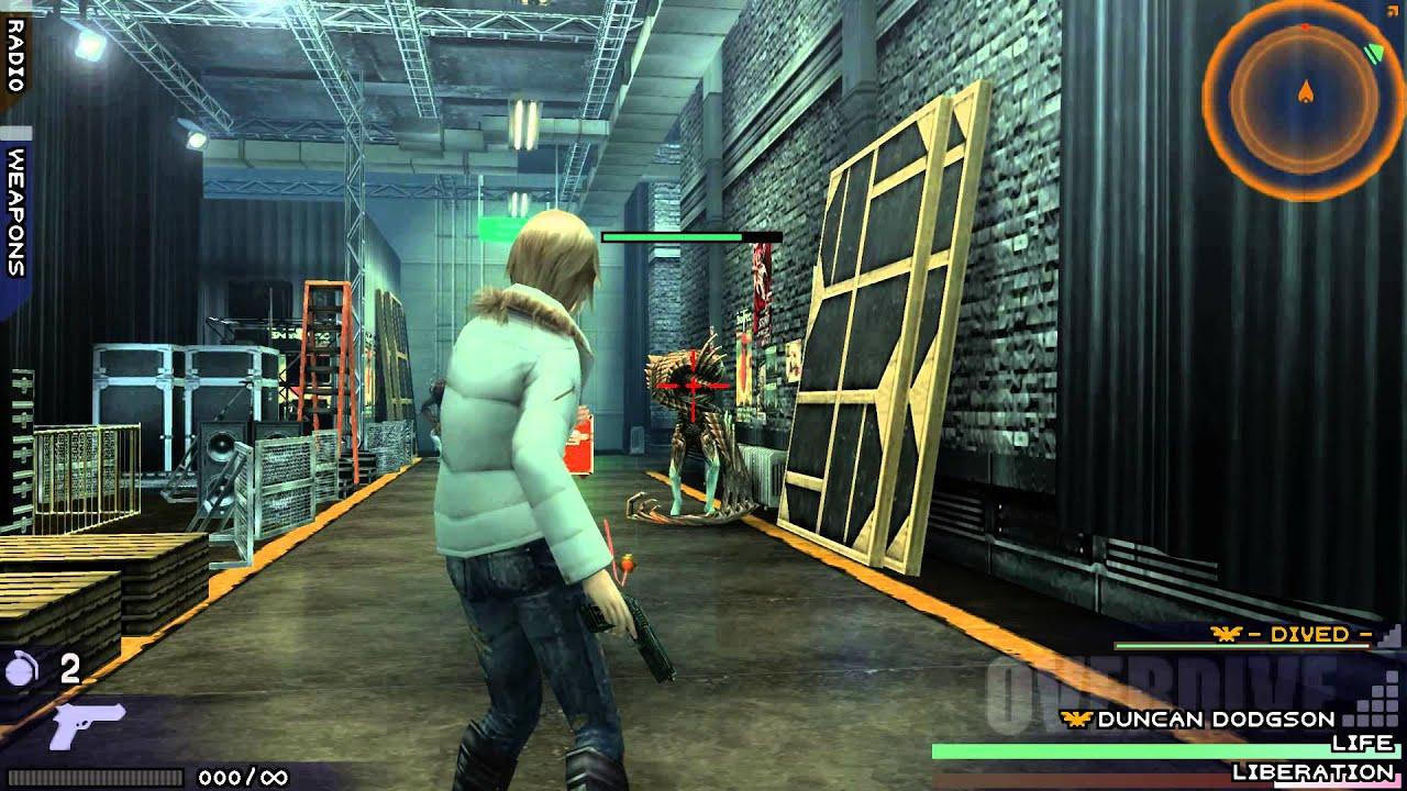 The 3rd Birthday - HD Gameplay PSP Emulator - YouTube