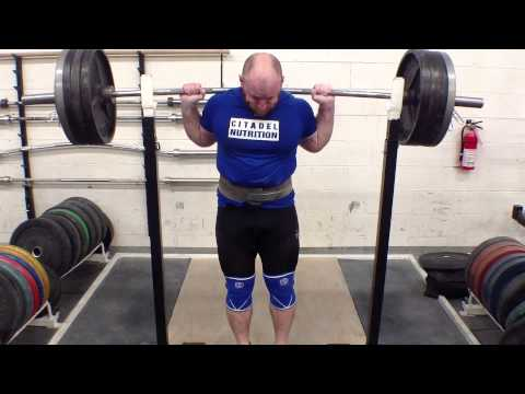 Squat Sets, Bar Path, and Knee Travel