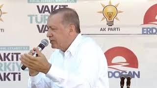 Erdoğan bu sefer kendisine kızdı: Yav Bay Erdoğan