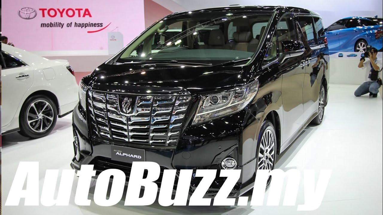 95312031a4 2015 Toyota Alphard First Look at Bangkok Motor Show - AutoBuzz.my ...