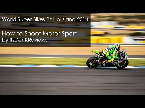 How to do Motorsports Photography - Shooting guide by ItsDanKReviews