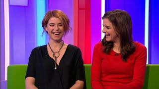 Jessie Buckley & Aisling Loftus  War and Peace interview