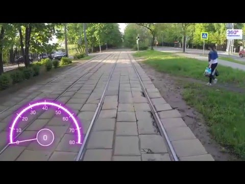 Travel Russia Moscow by tram №11