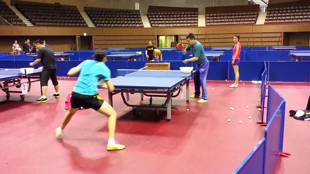 Li xiaoxia at the 2014 world team table tennis - Table tennis world championship 2014 ...