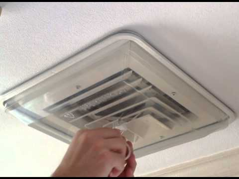 AC DraftShields Vent Cover Installation - YouTube