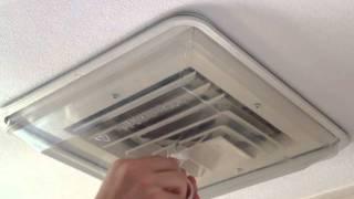 AC DraftShields Vent Cover Installation