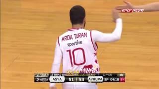 Barcelonalı Arda Turan, All-Star'da oyuna girdi üçlük attı!