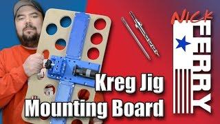 Ⓕ Kreg Jig® Mounting Board (ep44)
