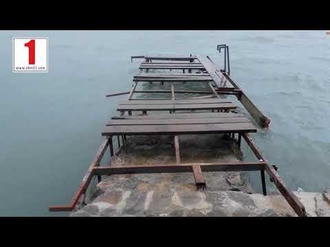 Огромни штети предизвика бурата во Охрид