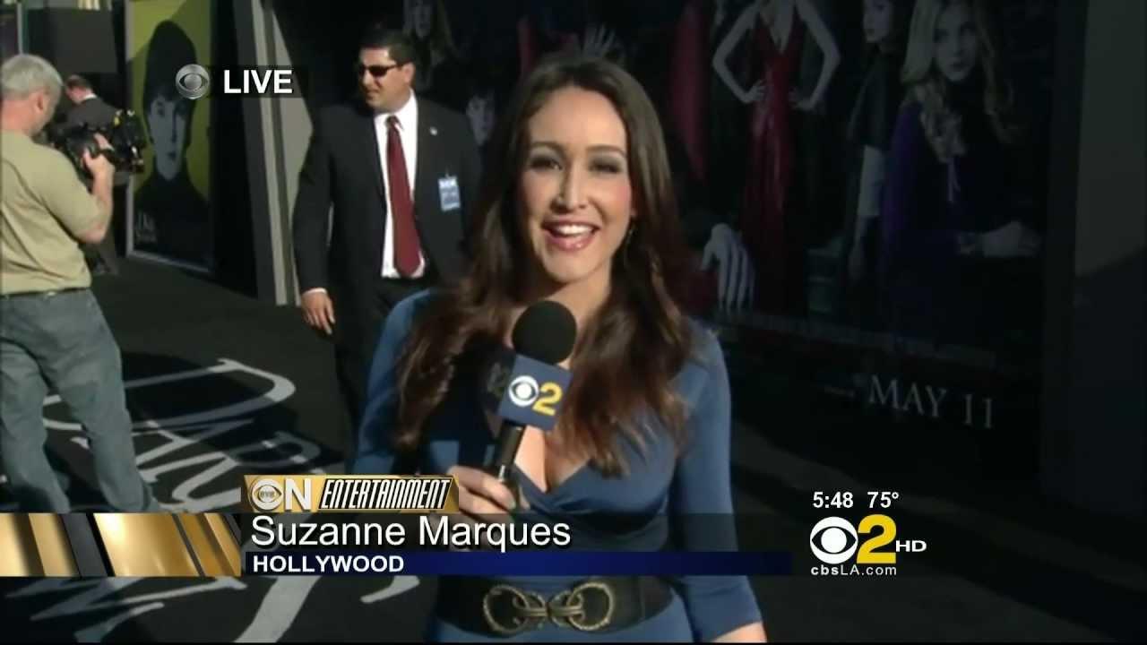 Suzanne Marques 2012/05/07 KCBS2/KCAL9 HD; Blue dress ...