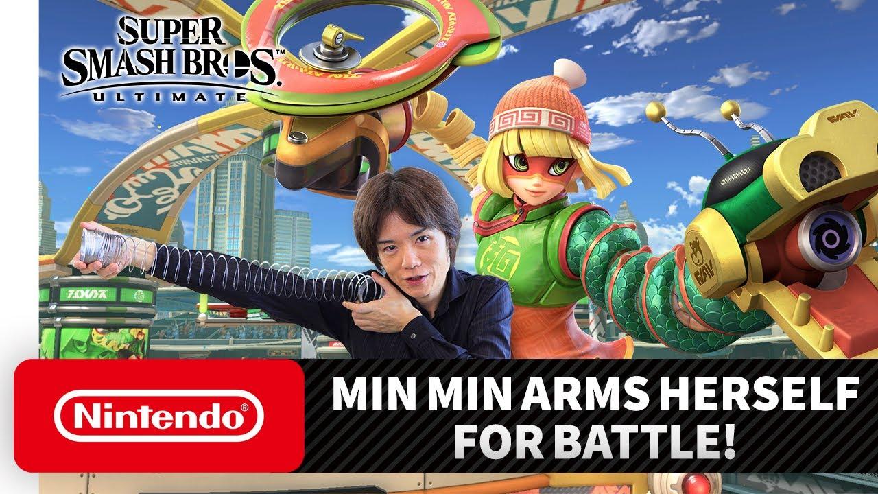 "Super Smash Bros. Ultimate – Mr. Sakurai Presents ""Min Min"" thumbnail"