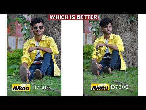 Nikon D7200 vs Nikon D7500 Comparison Outdoor Photography Live Demo
