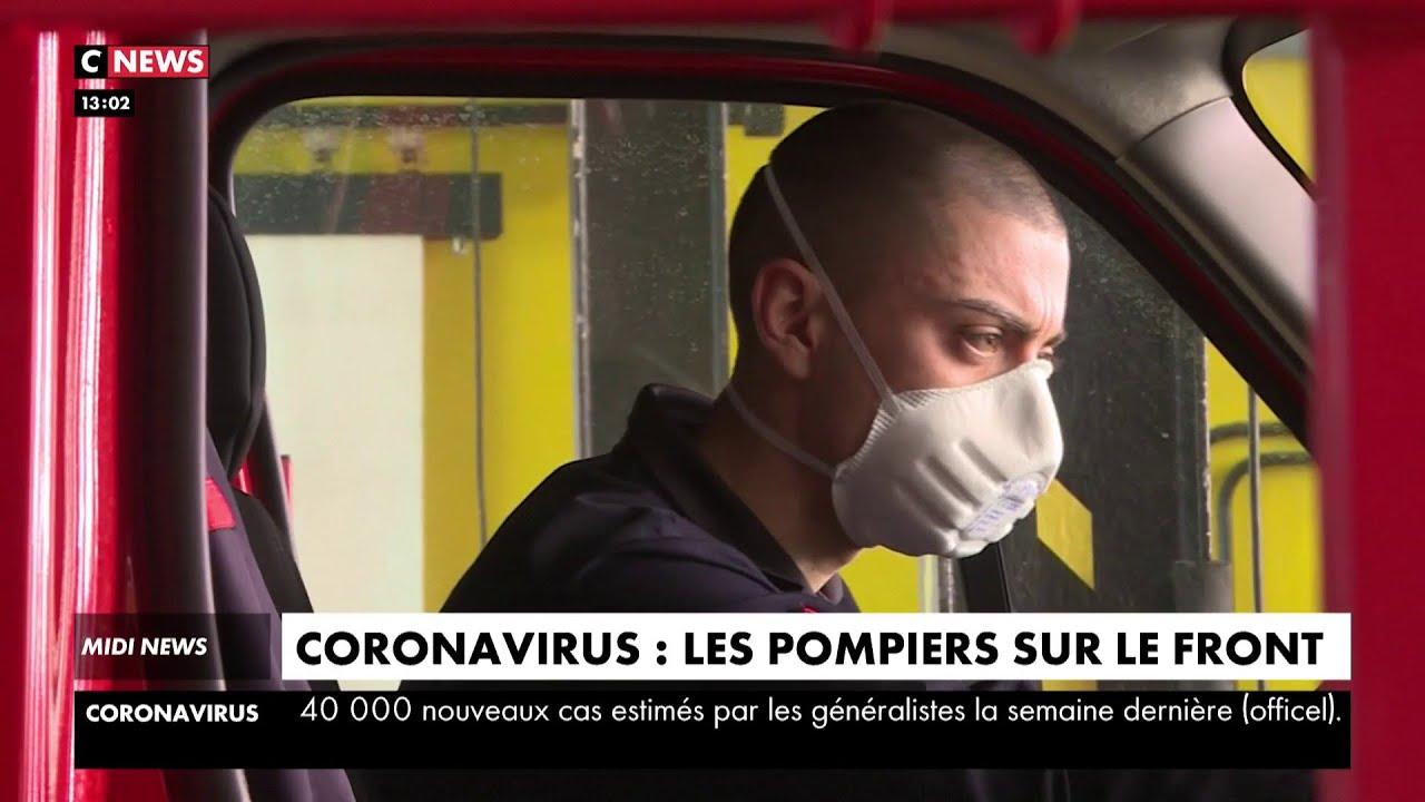 Coronavirus : les pompiers sur le front face au virus