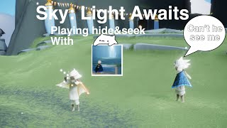 Playing hide and seek in Sky: Light Awaits ft. DaGuyWhoPlays ROBLOX