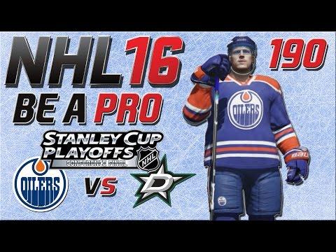 NHL 16 [Be A Pro][60fps][Deutsch][Playoffs] #190 - Edmonton Oilers - Dallas Stars ★ NHL 16