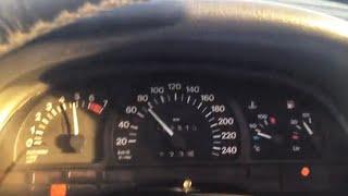 Opel vectra A 2.0 16v acceleration 0-100 km/h