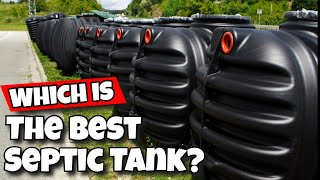 which is the best septic tank