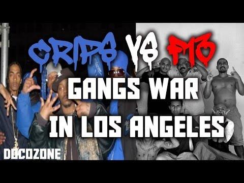 Gangs in Los Angeles Documentary 2017 : Hispanic Vs. Black Gang War