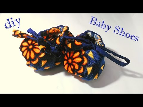 Baby shoes sewing tutorial | How to make baby shoes with fab