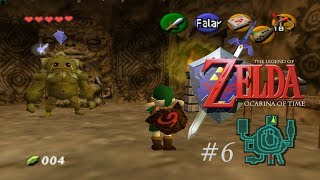 Vamos jogar - The Legend of Zelda: Ocarina of Time #6 - Darúnia, o chefão zangado