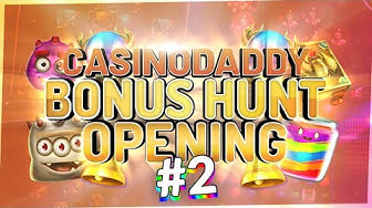 €5000 Bonushunt -  Casino Bonus opening from Casinodaddy LIVE Stream #2