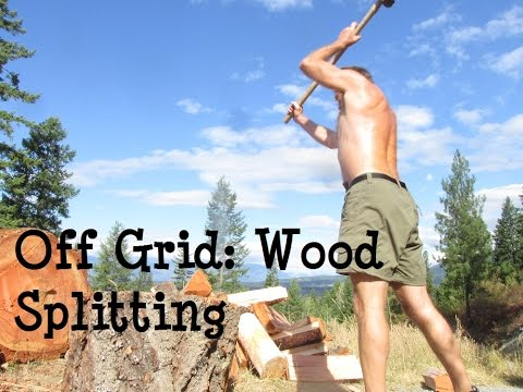 SPLITTING FIREWOOD: TRY TO BEAT THIS MAN!!!!!!!!!!!!!!