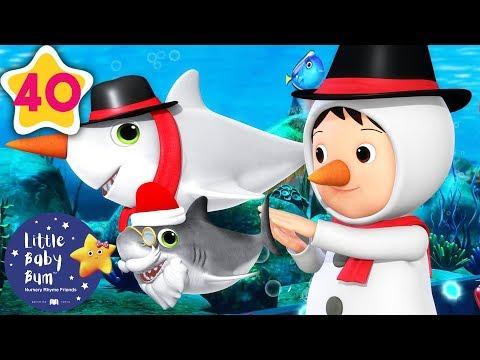 Baby Shark Dance   Christmas Edition   Baby Songs   +More Nursery Rhymes   Little Baby Bum