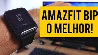 O MELHOR SMARTWATCH por menos de 200 REAIS! Amazfit BIP - Primeiras Impressões