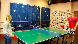 Теннисный стол для помещений №4. Стол для настольного тенниса.(Теннисный стол для помещений №4 с доставкой по всей России и по всему миру! Заходите на наш сайт: http://turnik-kupit...., 2016-01-29T19:48:16.000Z)