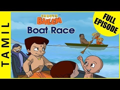 Boat Race | Chhota Bheem Full Episodes in Tamil | Season 1 Episode 3B