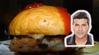 Fish Burger And french fry Review Food challenge